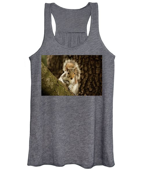 Women's Tank Top featuring the photograph What's Up? by Bob Cournoyer