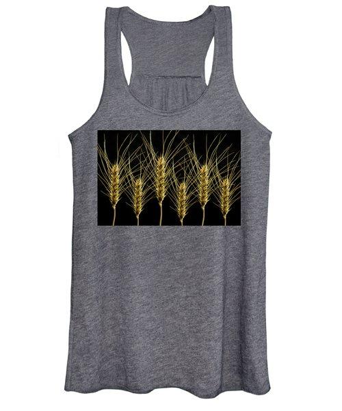 Wheat In A Row Women's Tank Top