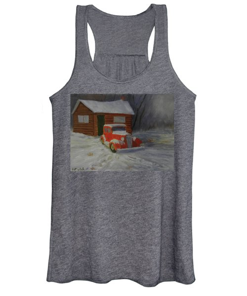 When Cars Were Big And Homes Were Small Women's Tank Top