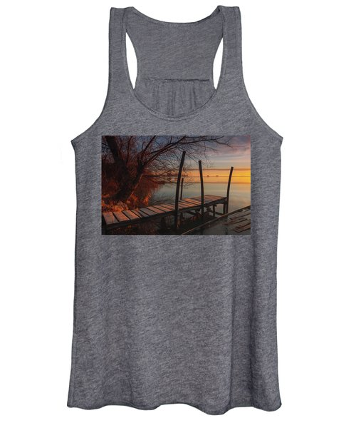 When The Light Touches The Shore Women's Tank Top