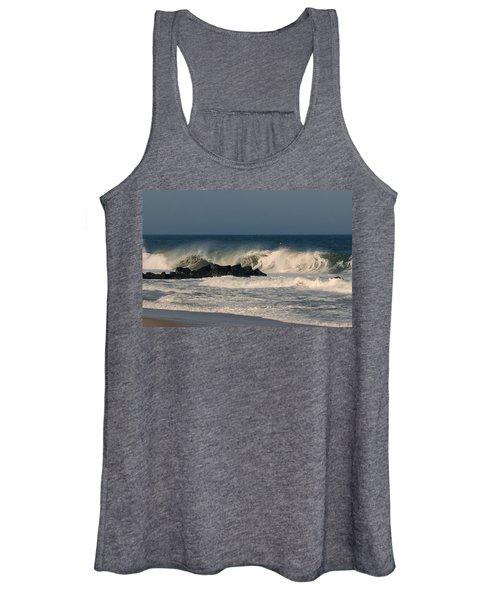 When The Ocean Speaks - Jersey Shore Women's Tank Top