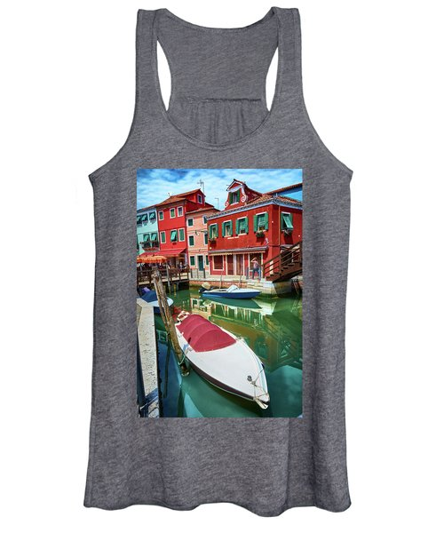 Where Did You Park The Boat? Women's Tank Top