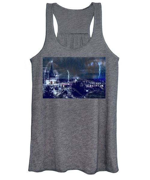 Whimsical Budapest Women's Tank Top