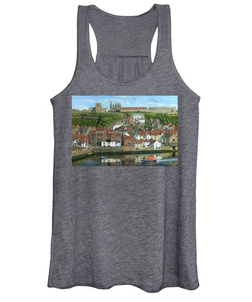 Whitby Harbor North Yorkshire  Women's Tank Top