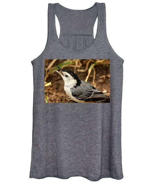 White Breasted Nuthatch 2 Women's Tank Top