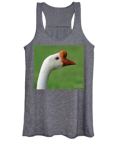 White Chinese Goose Women's Tank Top