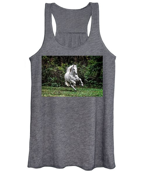 White Stallion Women's Tank Top