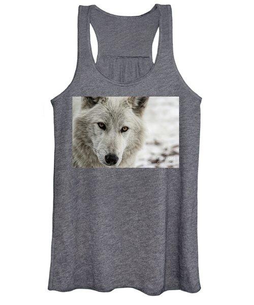 White Wolf II Women's Tank Top