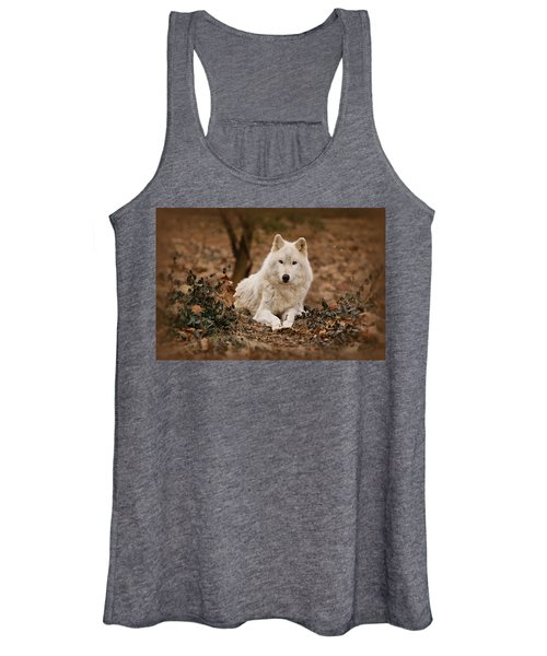 White Wolf Women's Tank Top
