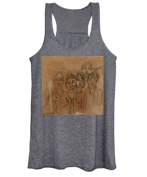 Why Do I Have To Be Famous Radiohead Women's Tank Top