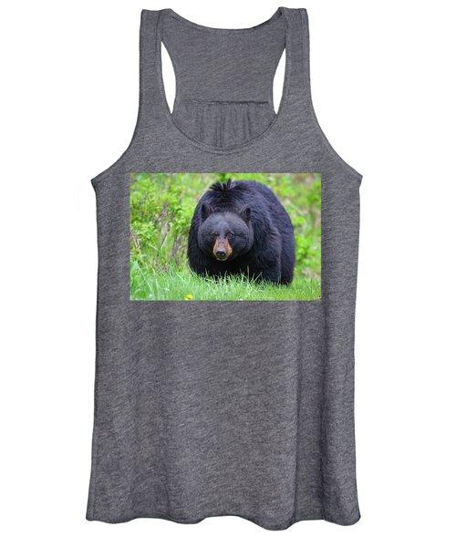 Wild Black Bear Women's Tank Top