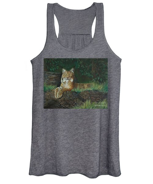 The Ever Watchful Lynx Women's Tank Top