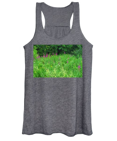 Wild Flowers And Shrubs In Vogelsberg Women's Tank Top