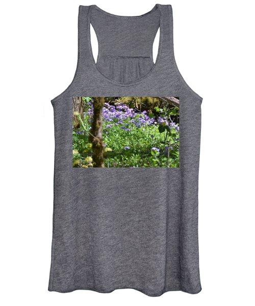 Wild Flowers On A Hike Women's Tank Top