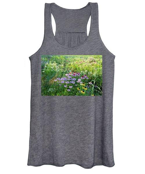 Wildflowers In Moraine Hills State Park Women's Tank Top