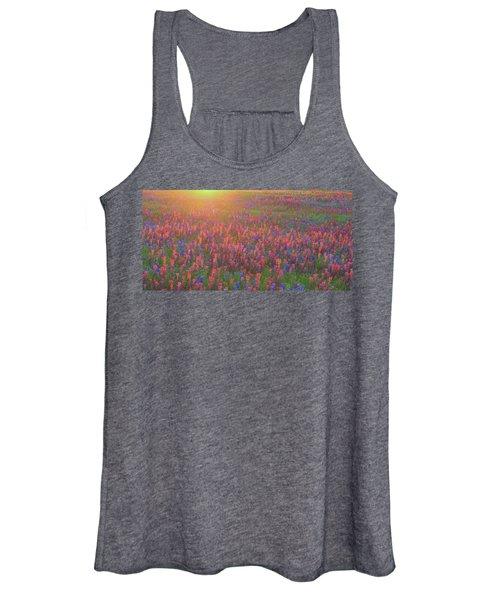 Wildflowers In Texas Women's Tank Top