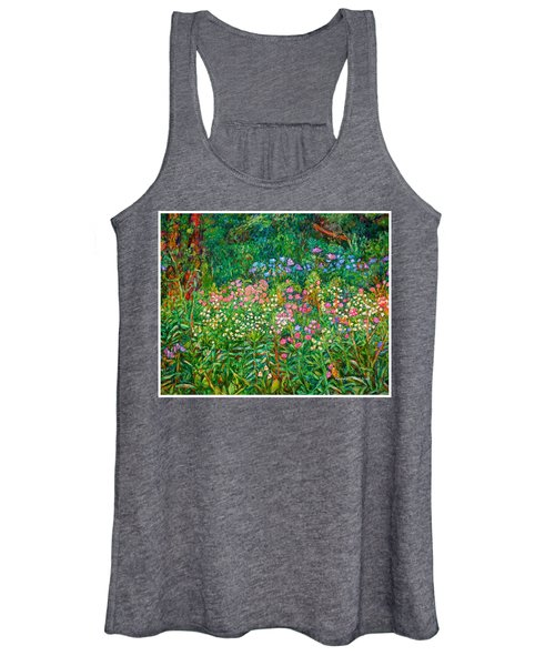 Wildflowers Near Fancy Gap Women's Tank Top