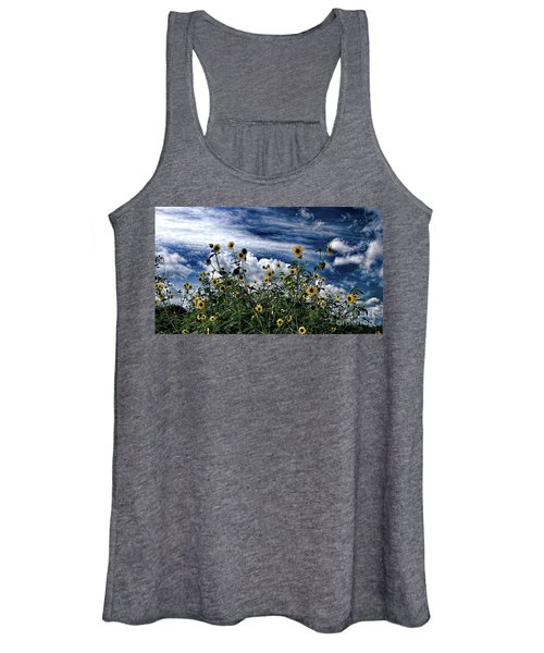 Wildflowers On The Brazos Women's Tank Top