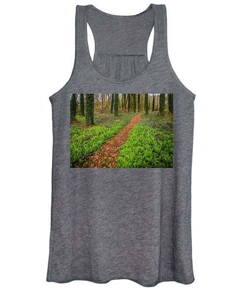 Women's Tank Top featuring the photograph William Butler Yeats Woods Of Coole Park by James Truett