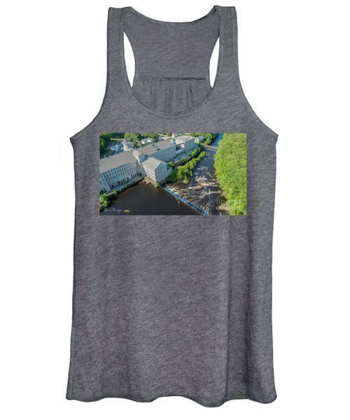Willimantic River And Mill #2 Women's Tank Top