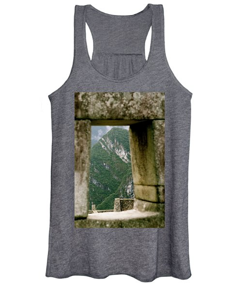 Window To The Gifts Of The Pachamama Women's Tank Top