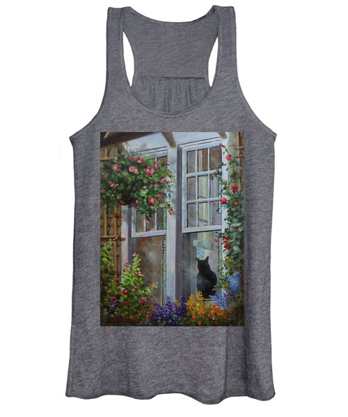 Window Watcher Women's Tank Top