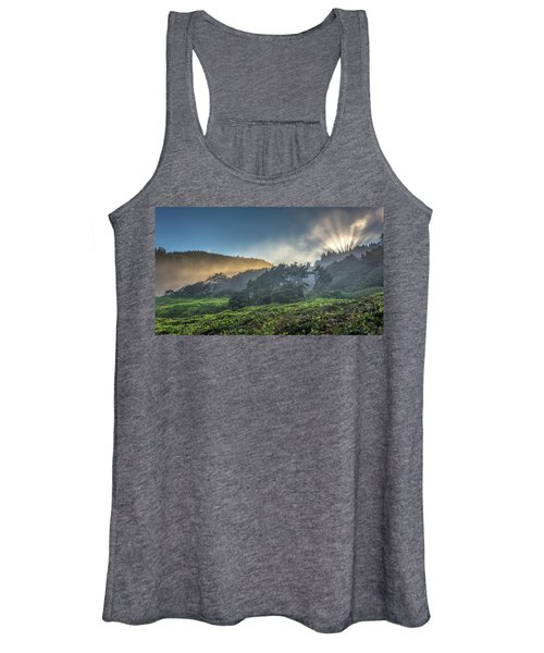 Windswept Trees On The Oregon Coast Women's Tank Top