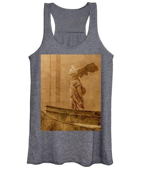 Paris, France - Louvre - Winged Victory Women's Tank Top