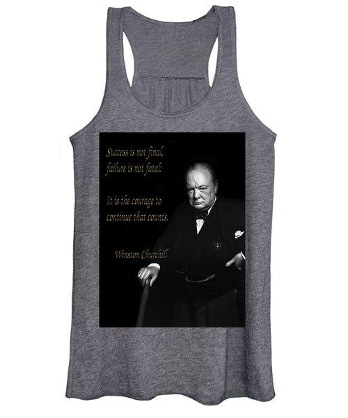 Winston Churchill 1 Women's Tank Top