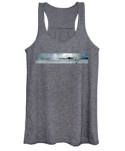 Winter At Grand Prismatic Women's Tank Top