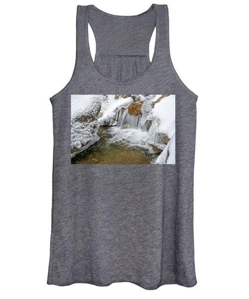 Winter Cascade Nh Women's Tank Top