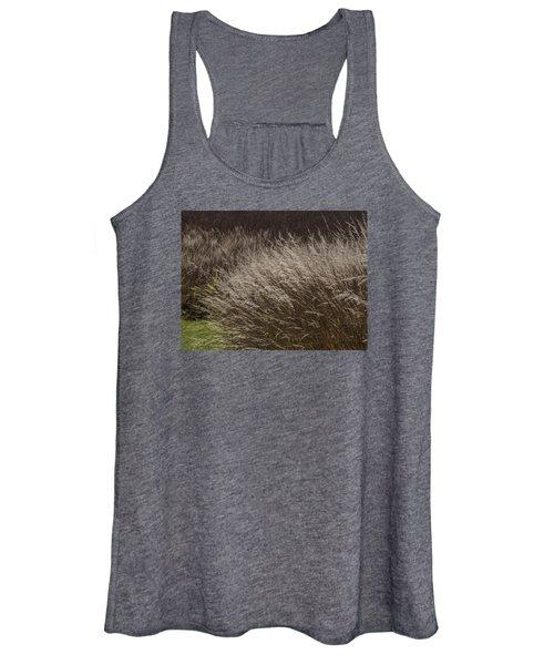 Winter Grass Women's Tank Top