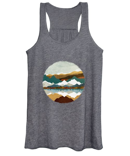 Winter Lake Women's Tank Top