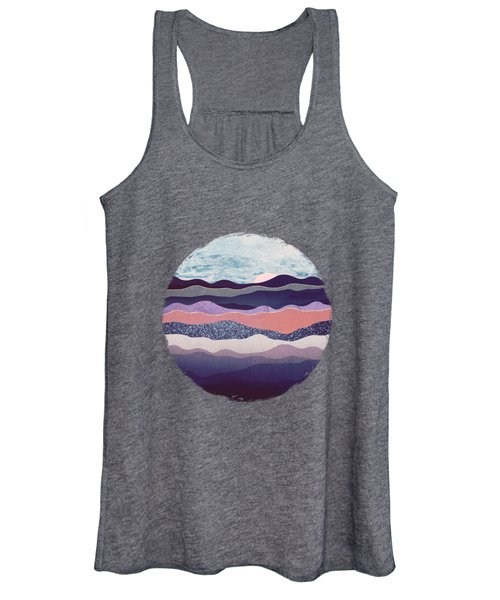 Winter Mountains Women's Tank Top