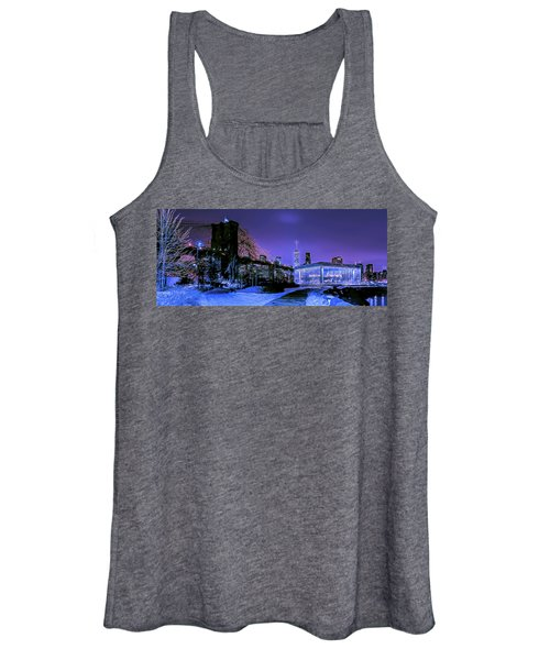 Winter Night Women's Tank Top