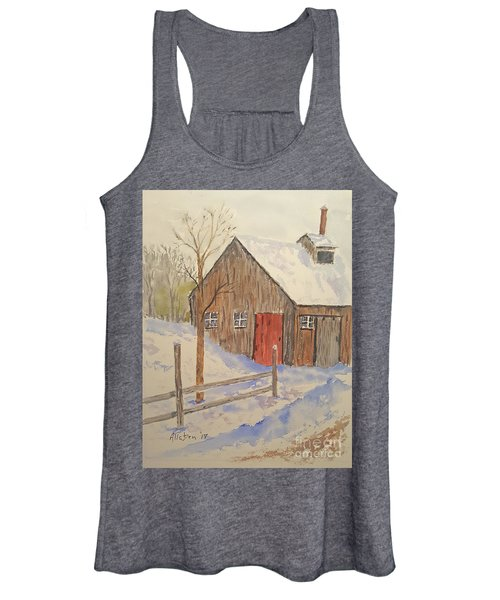 Winter Sugar House Women's Tank Top