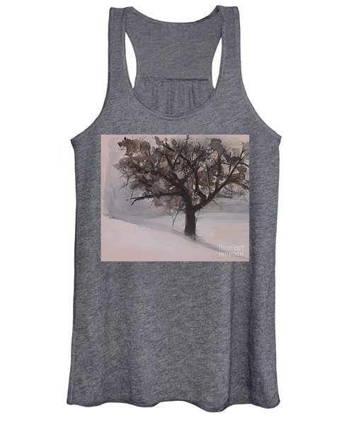 Winter Tree Women's Tank Top