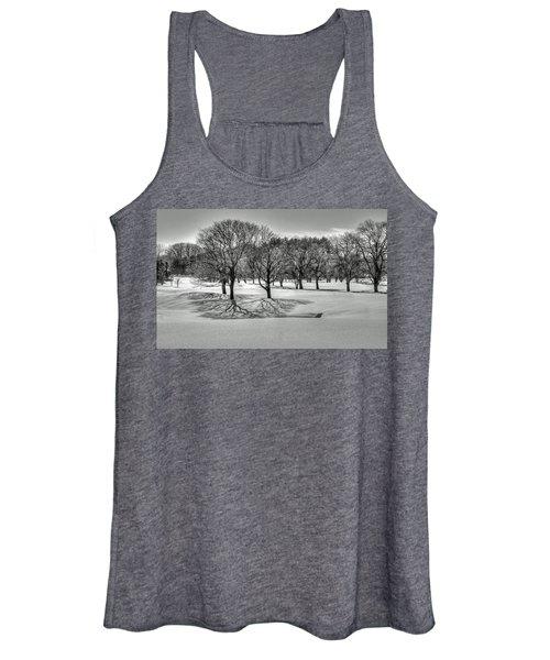 Winter Trees Women's Tank Top