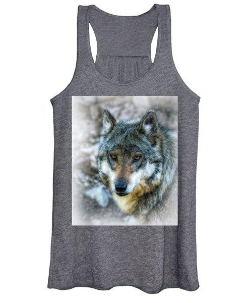 Wolf Gaze Women's Tank Top