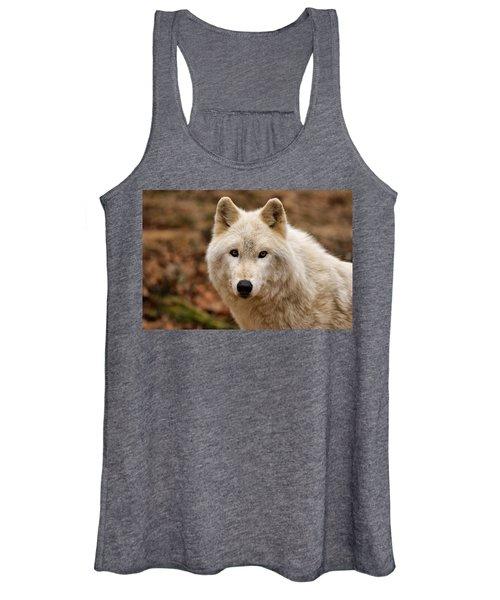 Wolf Watching Women's Tank Top