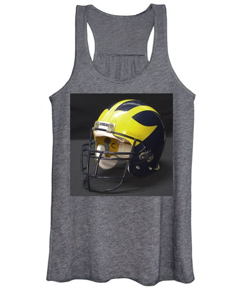 Wolverine Helmet From The 1990s Women's Tank Top