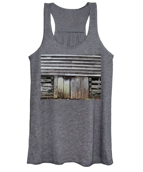 Wood Women's Tank Top