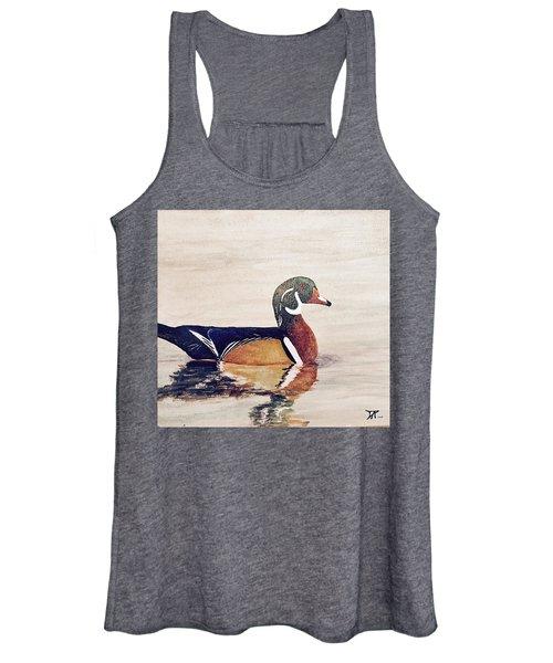 Wood Duck Women's Tank Top