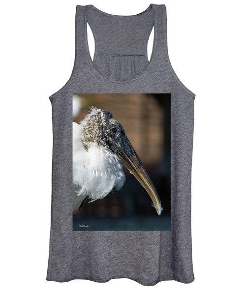 Wood Stork Women's Tank Top