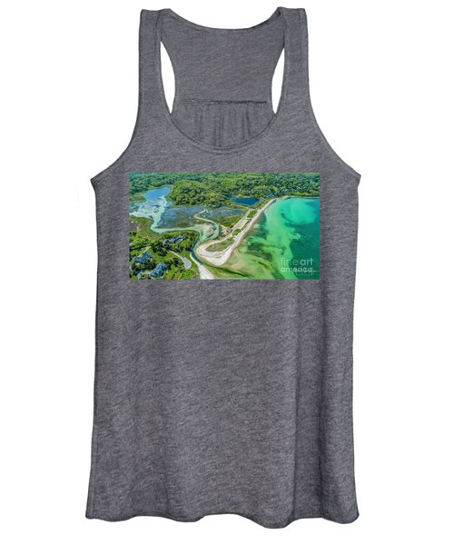 Woodneck Beach At 400 Feet Women's Tank Top