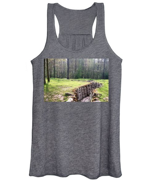 World War One Trenches Women's Tank Top
