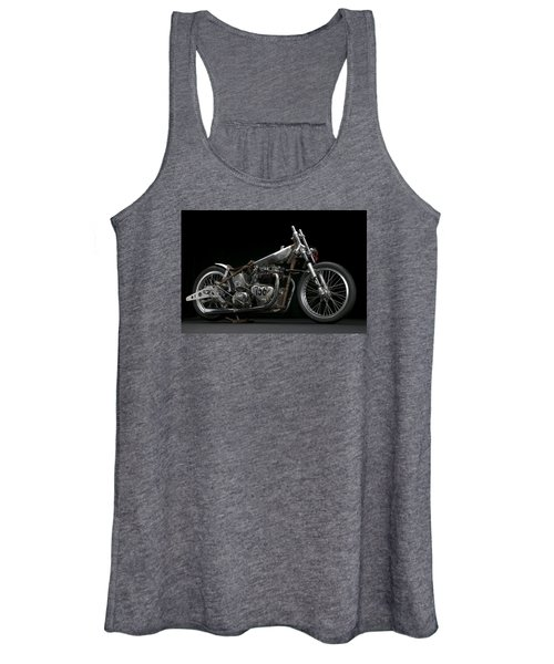 World's Fastest Vintage Triumph Women's Tank Top