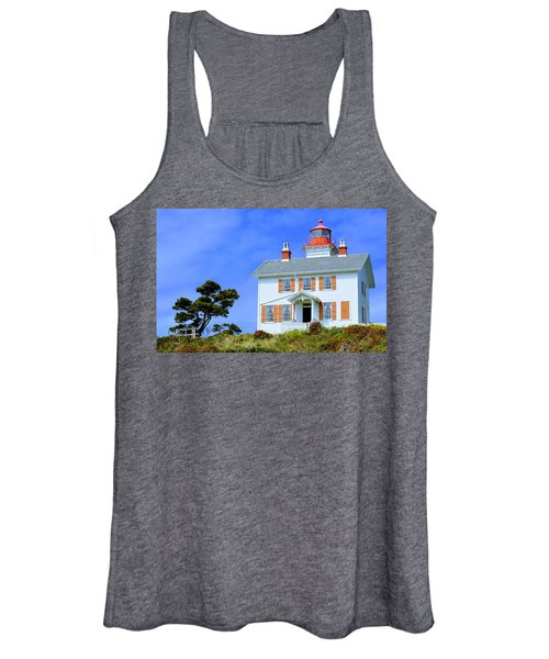 Yaquina Bay Lighthouse Women's Tank Top