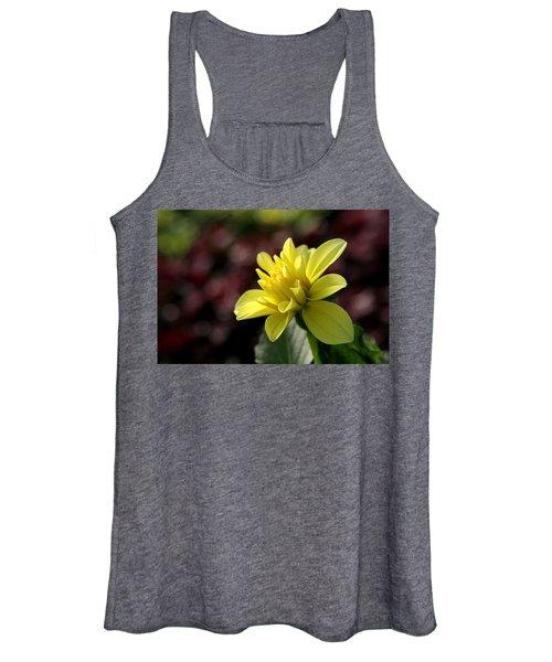 Yellow Bloom Women's Tank Top