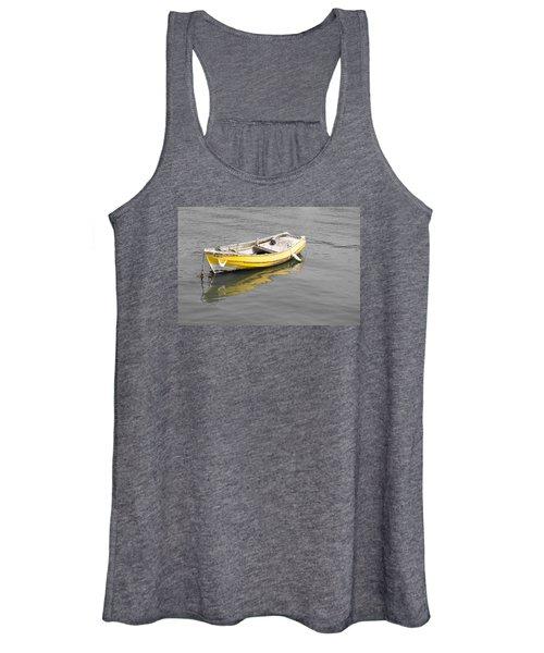 Yellow Boat Women's Tank Top
